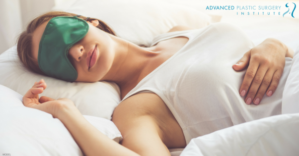 Dr. Olson's advice for getting the sleep you need after breast augmentation